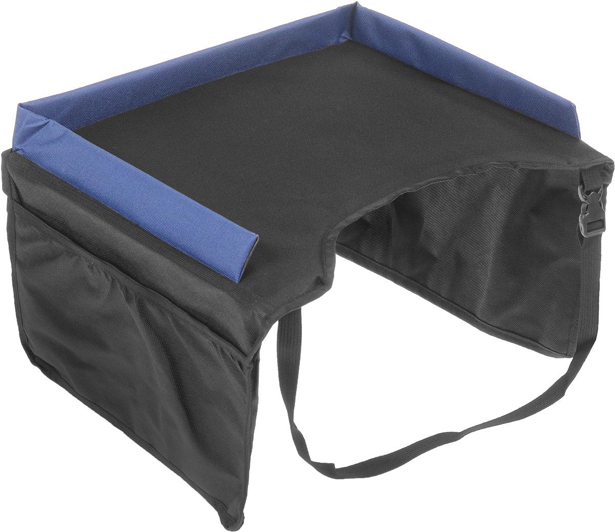 """Столик на детское автокресло """"Phantom Kids"""", универсальный, цвет: черный, синий ( PH6514 )"""