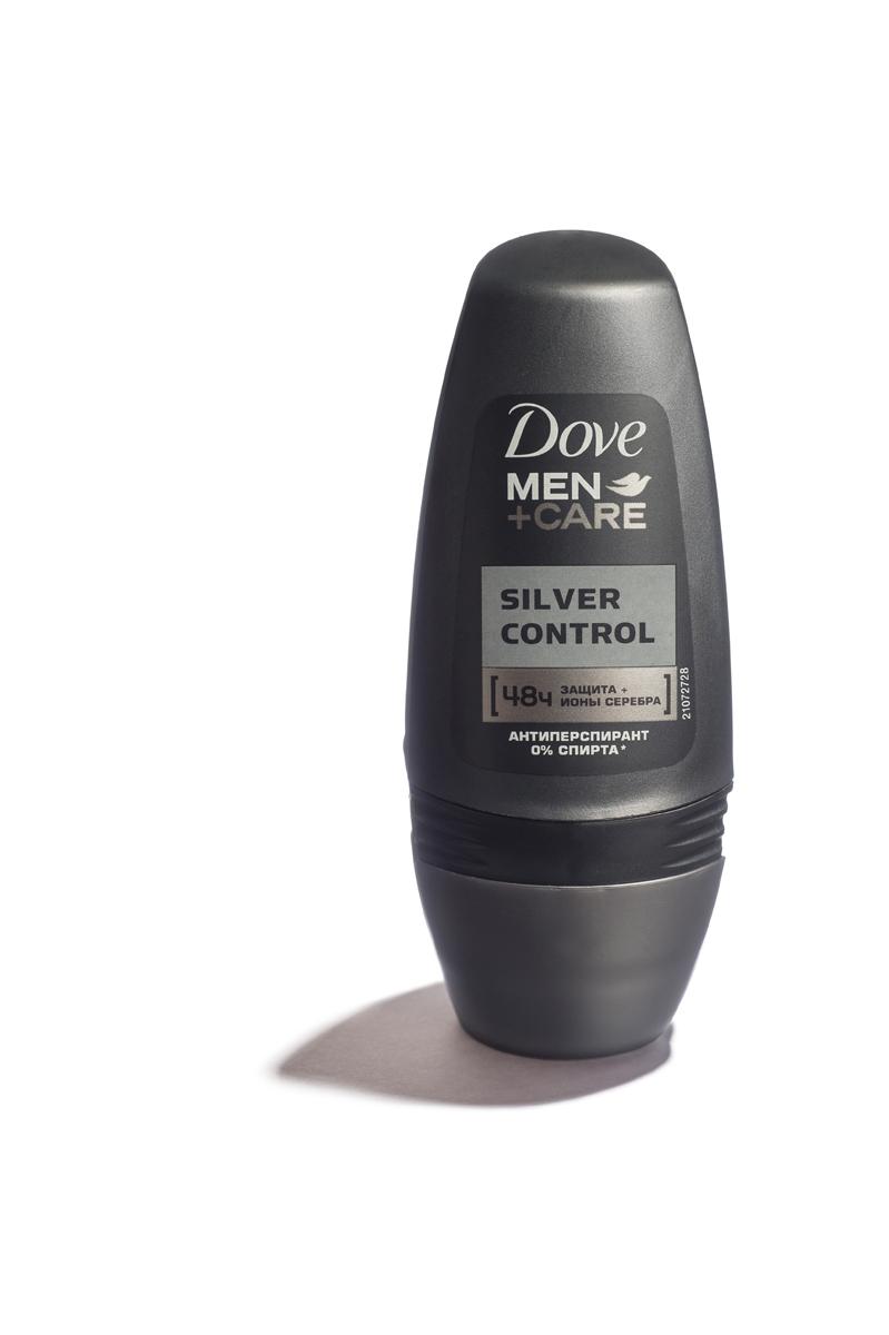 Dove Men+Care Антиперспирант ролл Заряд серебра 50 мл