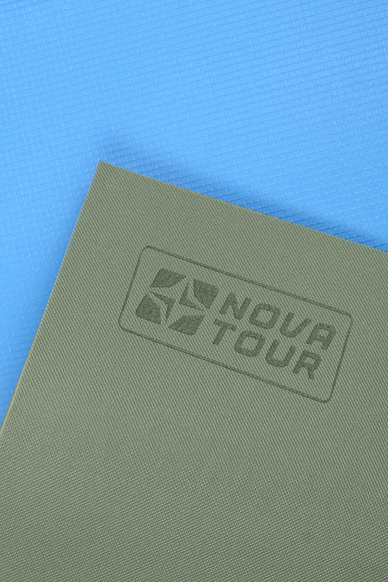 "Коврик туристический Nova Tour ""Турист"", цвет: синий, 180 см х 60 см х 0,8 см"
