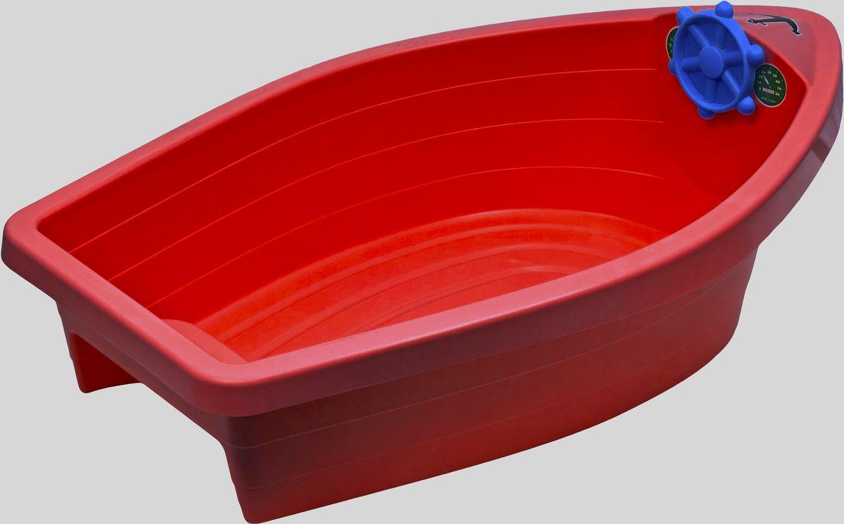Marian Plast Бассейн Лодочка цвет красный