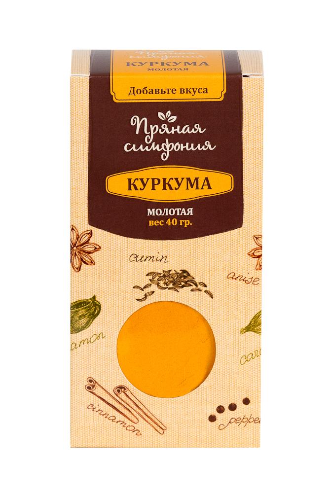 Пряная Симфония Куркума молотая, 40 г