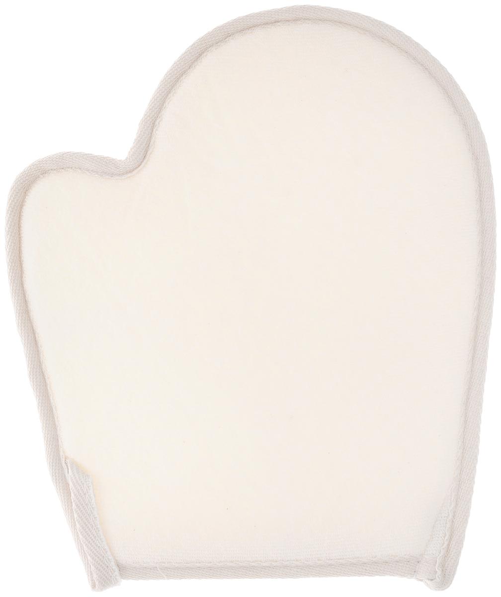 Мочалка-рукавица Текос, из сизаля
