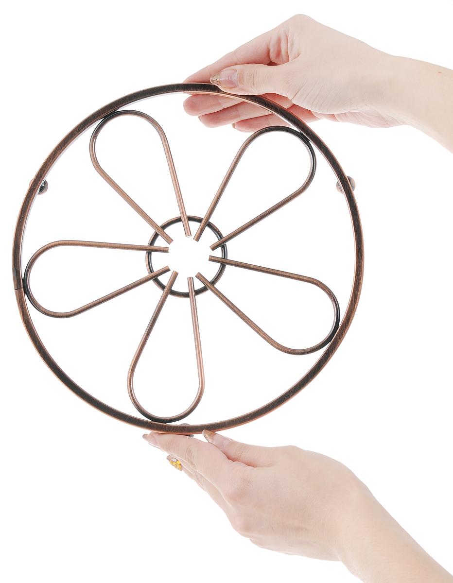 """Подставка под горячее Guterwahl """"Цветок"""", диаметр 21,5 см"""