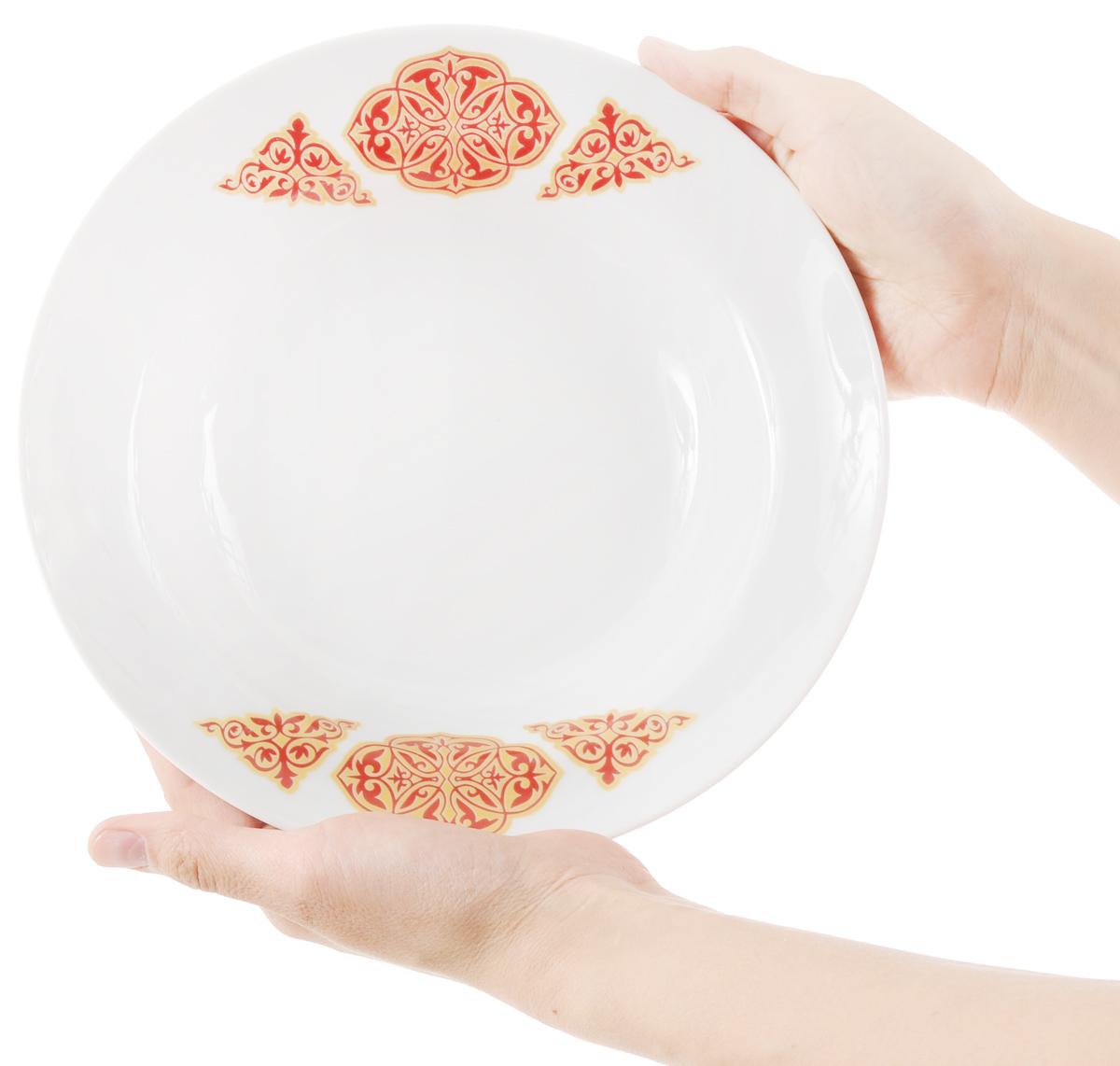 """Тарелка глубокая """"Идиллия. Восточный"""", диаметр 24 см"""