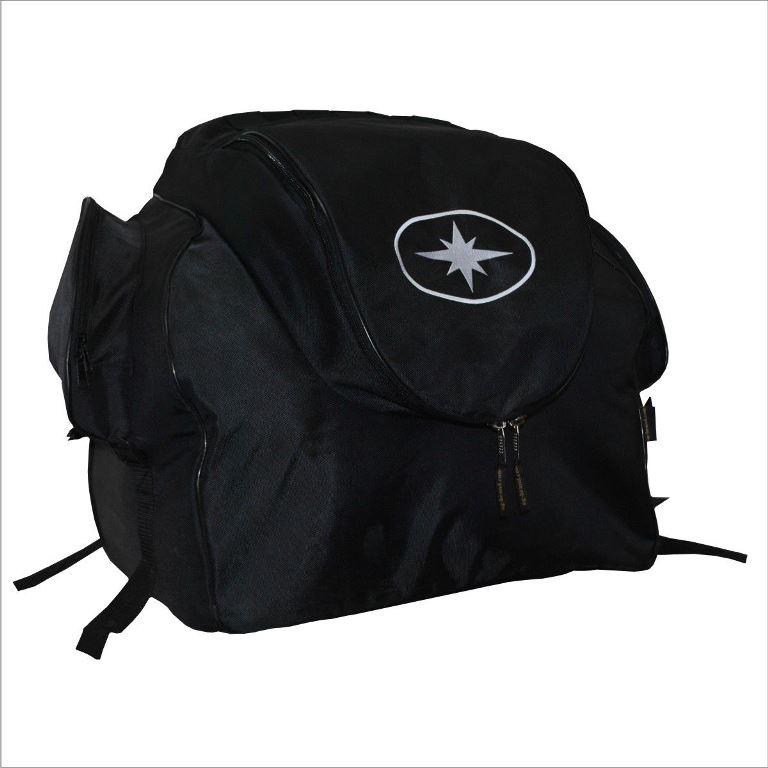 """Кофр текстильный """"AG-brand"""" для снегохода Polaris Widetrak LX, цвет: черный"""