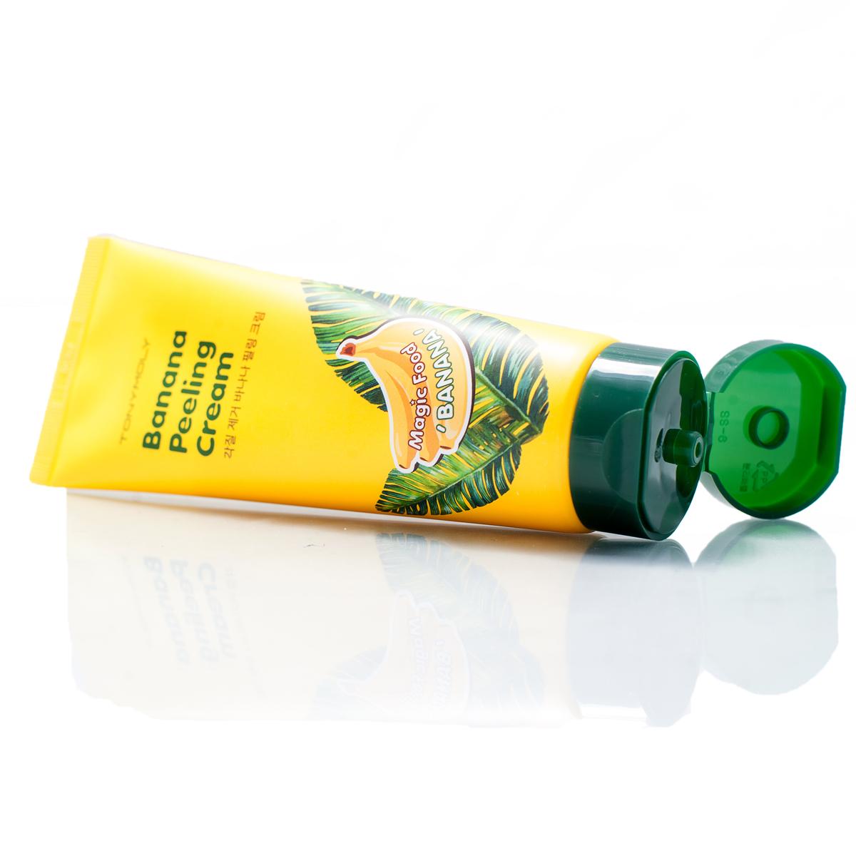 TonyMoly Пилинг-крем для лица с экстрактом банана Magic Food Banana Peeling Cream, 150 мл (Tonymoly)