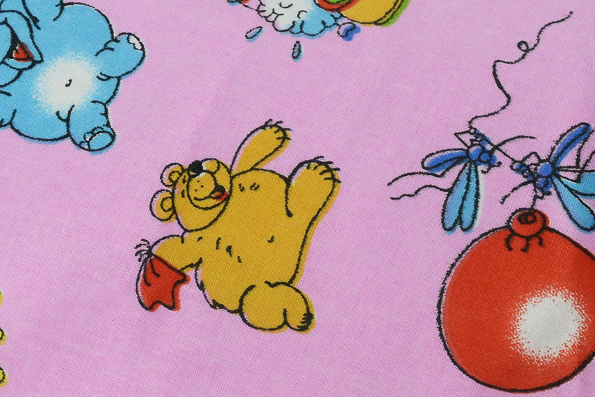 Фэст Подушка для беременных и кормящих мам Зоопарк цвет розовый