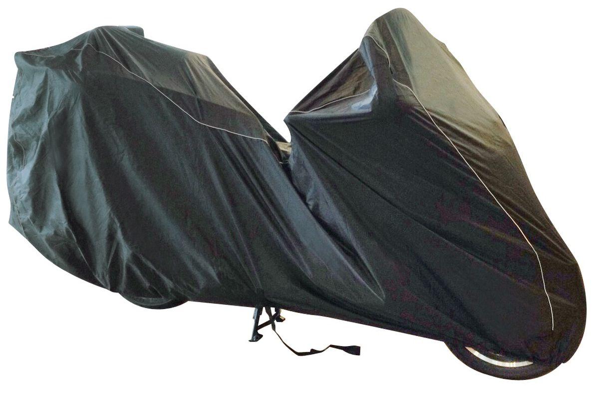 """Чехол Мотоциклетный Starks Luxury Tourer"""", цвет: черный"""