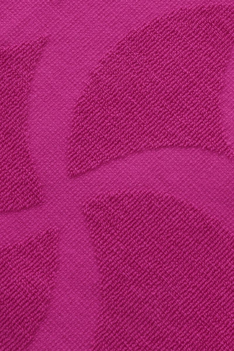 """Полотенце Issimo Home """"Rondelle"""", цвет: фуксия, 90 x 180 см"""