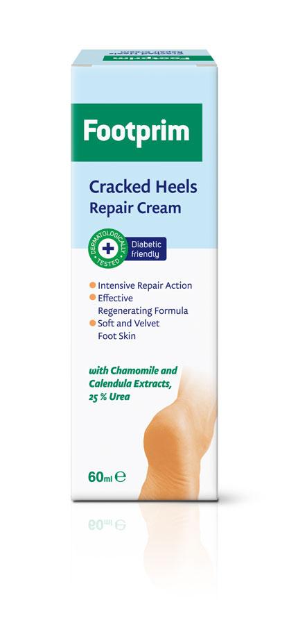 Footprim Крем для потрескавшейся кожи пяток Cracked Heels Repair Cream, 60 мл
