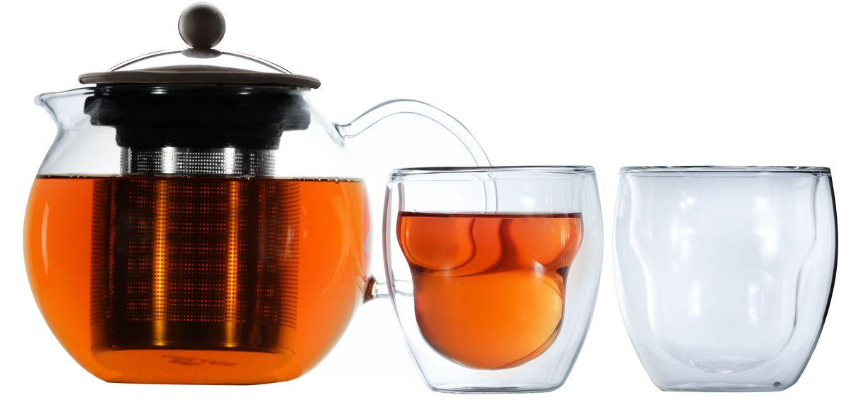 """Набор чайный Walmer """"Baron"""", 3 предмета"""