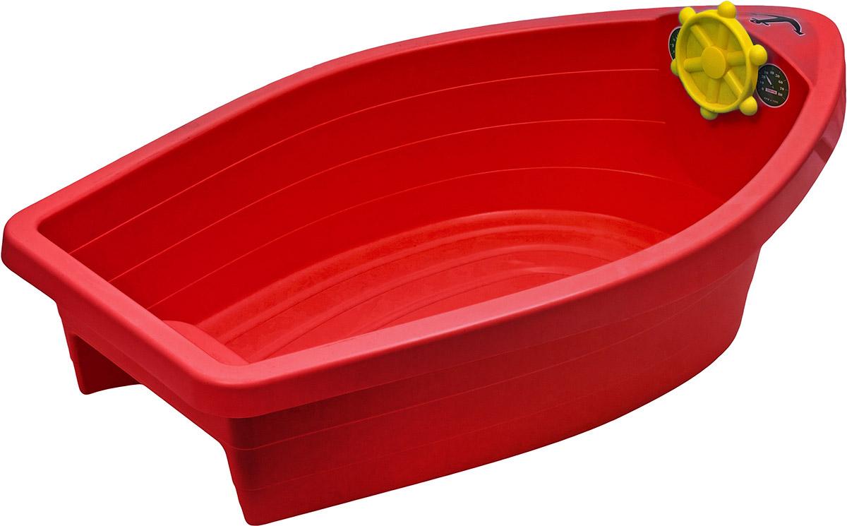 PalPlay Бассейн с покрытием Лодочка цвет красный
