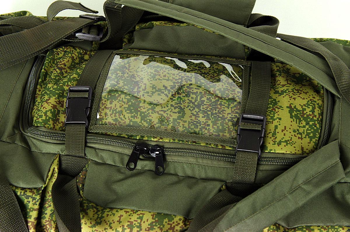 """Сумка-рюкзак """"Solaris"""" """"Экспедиционная"""", цвет : оливковый, 120 л. S5205"""