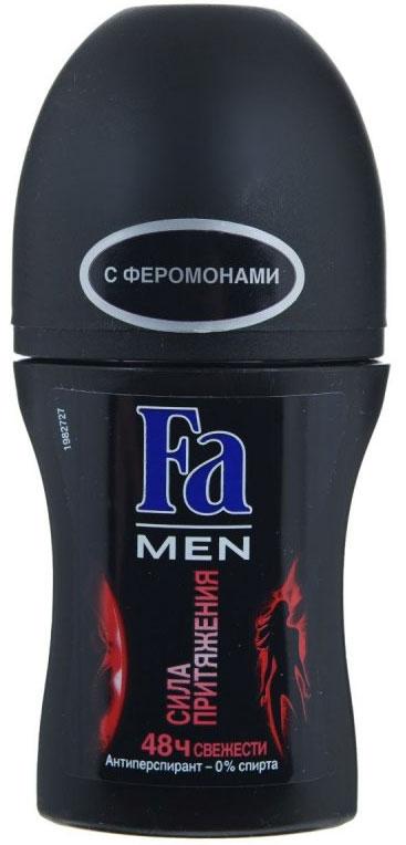 FA MEN Дезодорант роликовый Сила Притяжения, 50 мл (Fa)