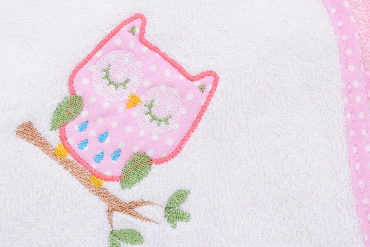 Фея Комплект для купания Сова цвет розовый 2 предмета