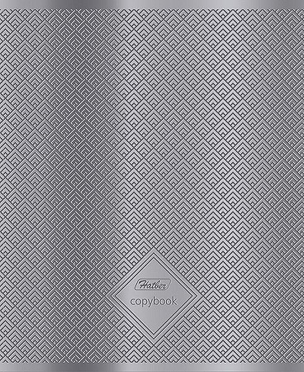 Тетрадь Hatber Серебряные узоры подойдет для школьников и студентов.Обложка, выполненная из металлизированного картона, позволит сохранить тетрадь ваккуратном состоянии на протяжении всего времени использования. Внутреннийблок тетради, соединенный двумя металлическими скрепками, состоит из 96листов белой бумаги. Стандартная линовка в клетку дополнена красными полями.