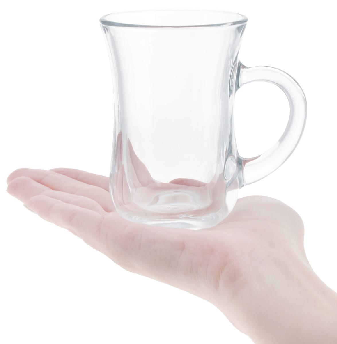 """Набор кружек Pasabahce """"Tea & Coffee"""", 140 мл, 6 шт"""