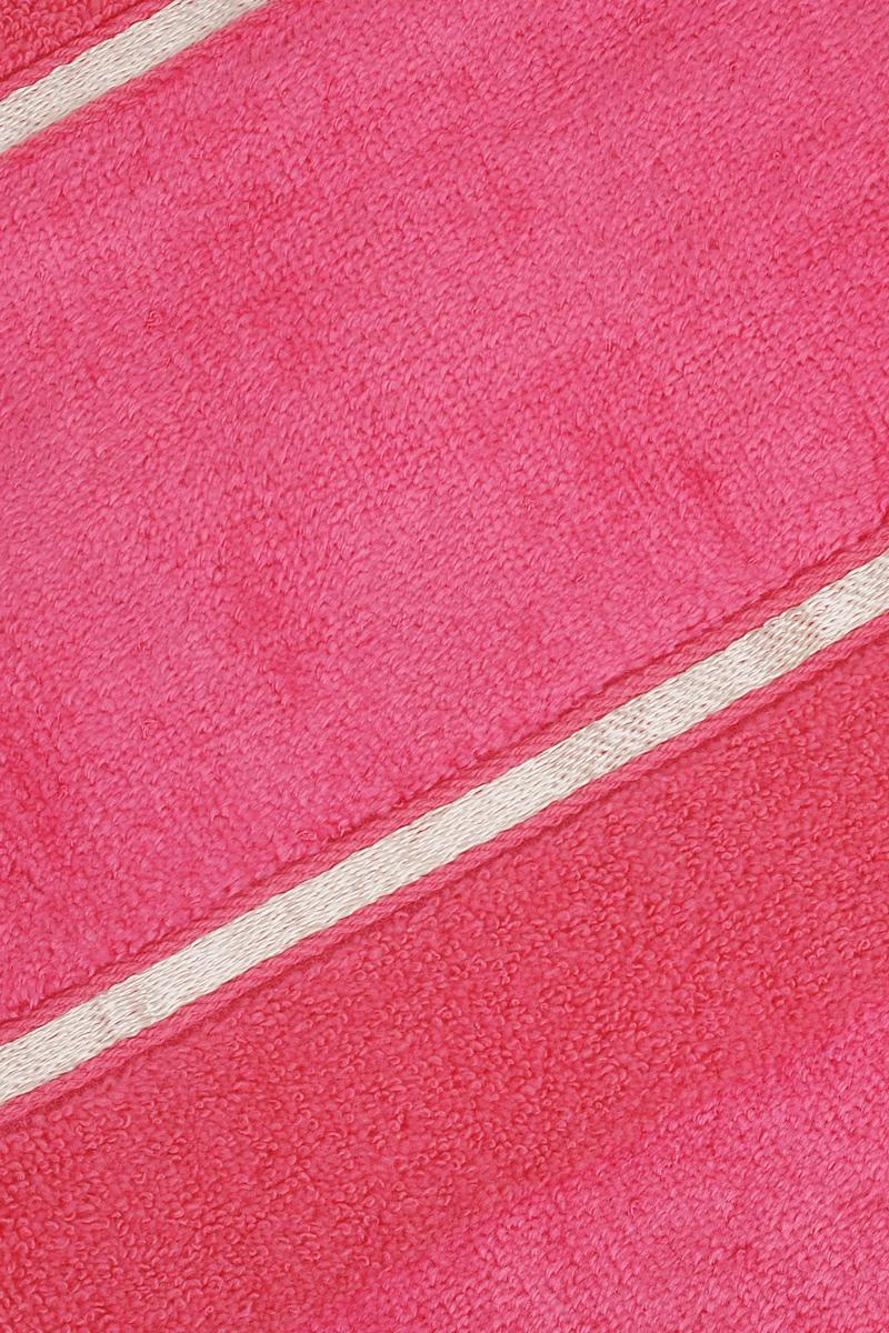 """Полотенце Soavita """"Louise"""", цвет: фуксия, 50 х 90 см"""