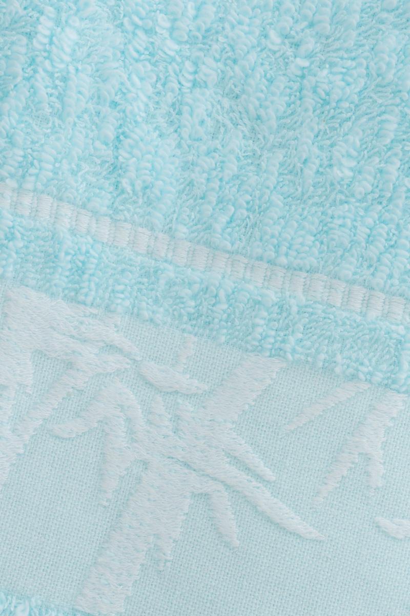 "Полотенце Soavita ""Chloe"", цвет: светло-голубой, 70 х 130 см"