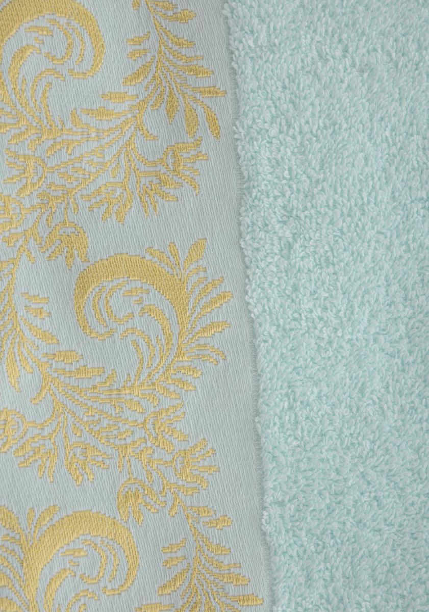 """Полотенце Soavita """"Luxury. Уника"""", цвет: светло-голубой, 50 х 90 см"""