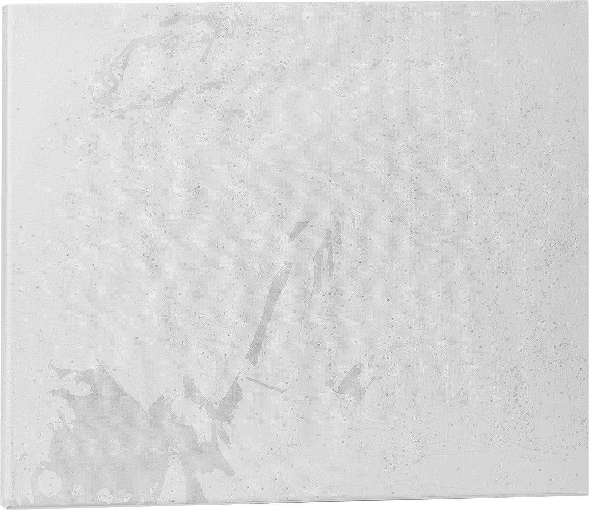 """Живопись на холсте """"Таинственная незнакомка"""", 40 х 50 см ( 332-CG Таинственная незнакомка )"""