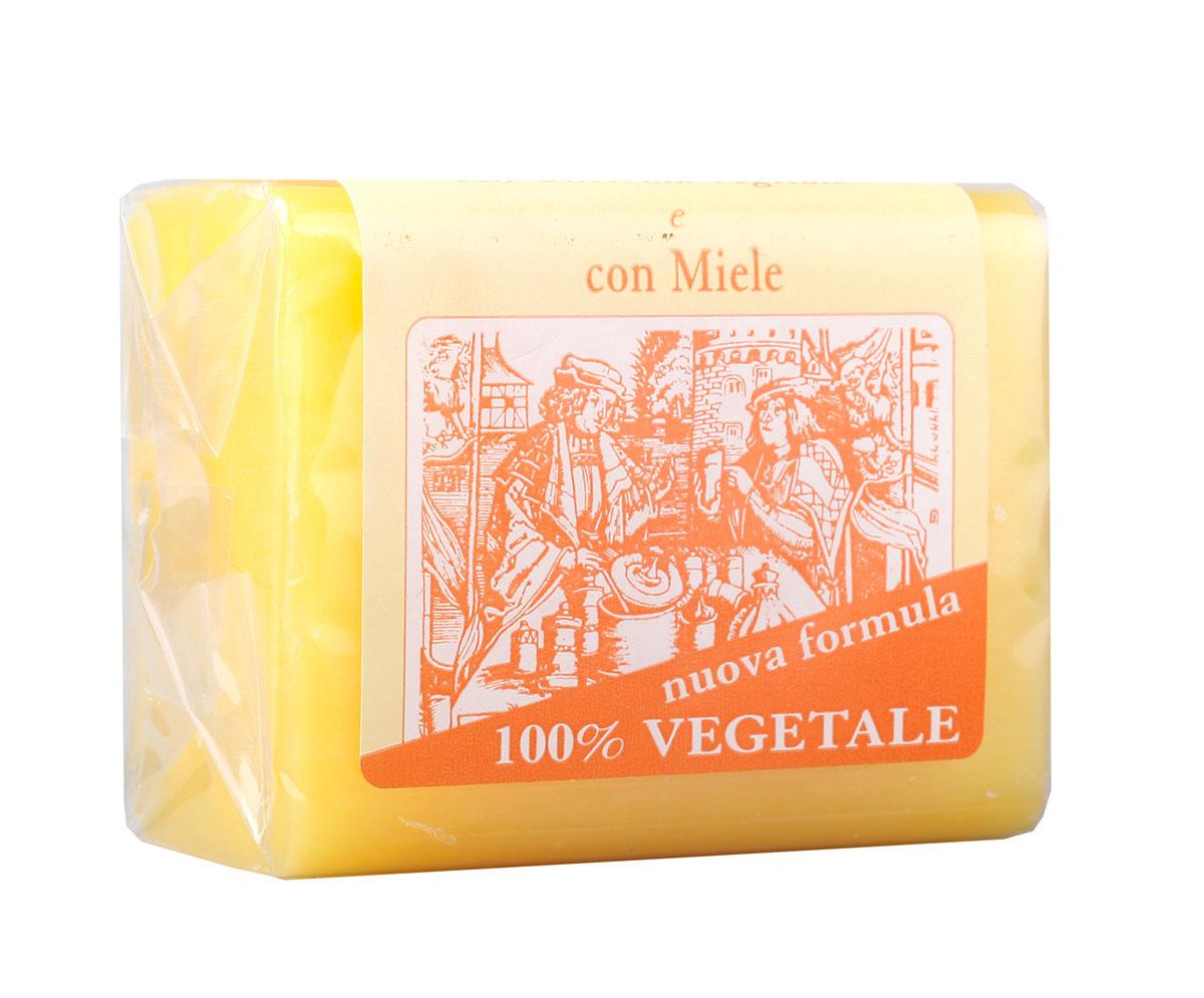 Iteritalia Мыло натуральное глицериновое с медом, 150 г