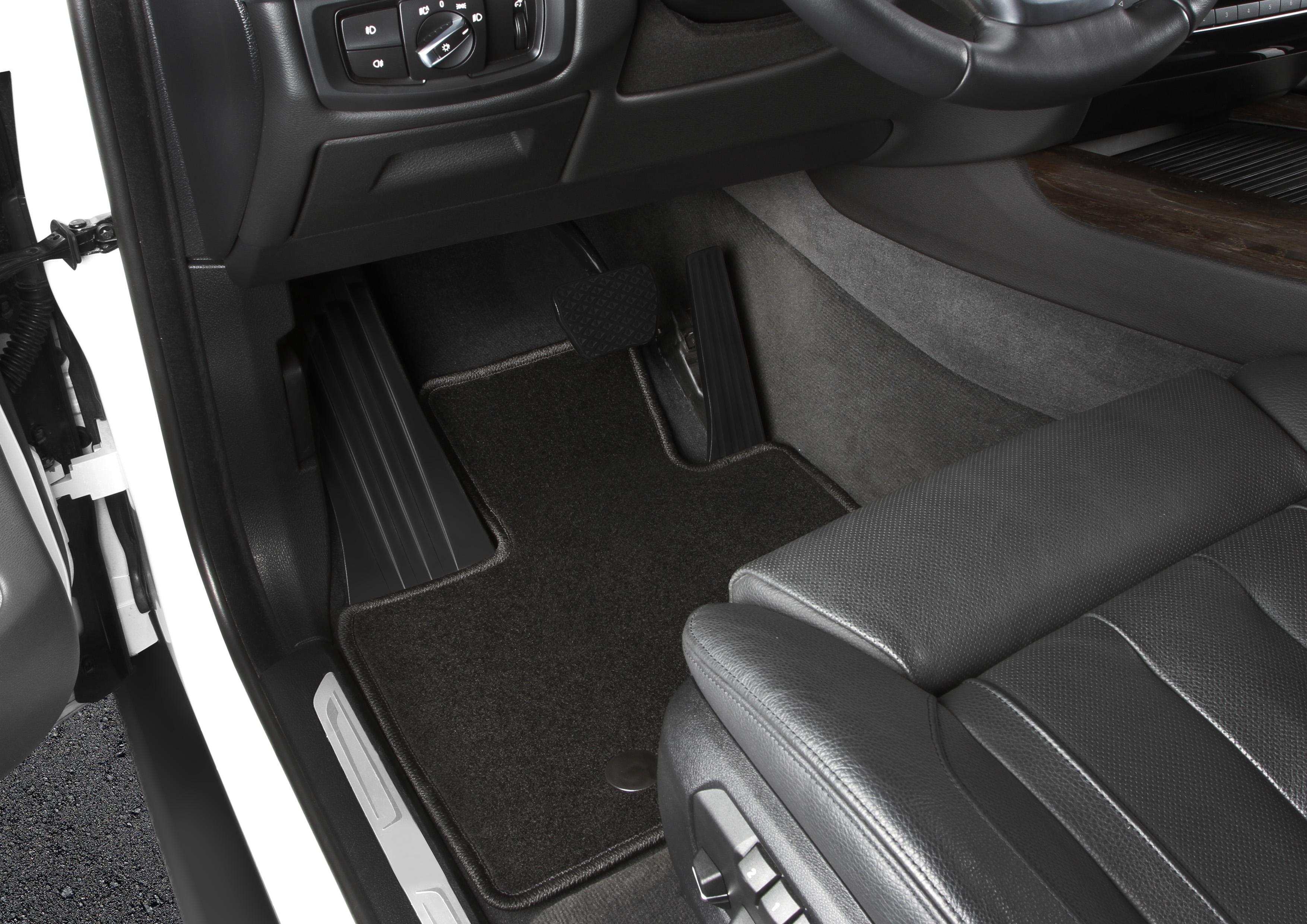 """Набор автомобильных ковриков """"Klever"""" для Renault Sandero 2010-, хэтчбек, в салон, 4 шт"""