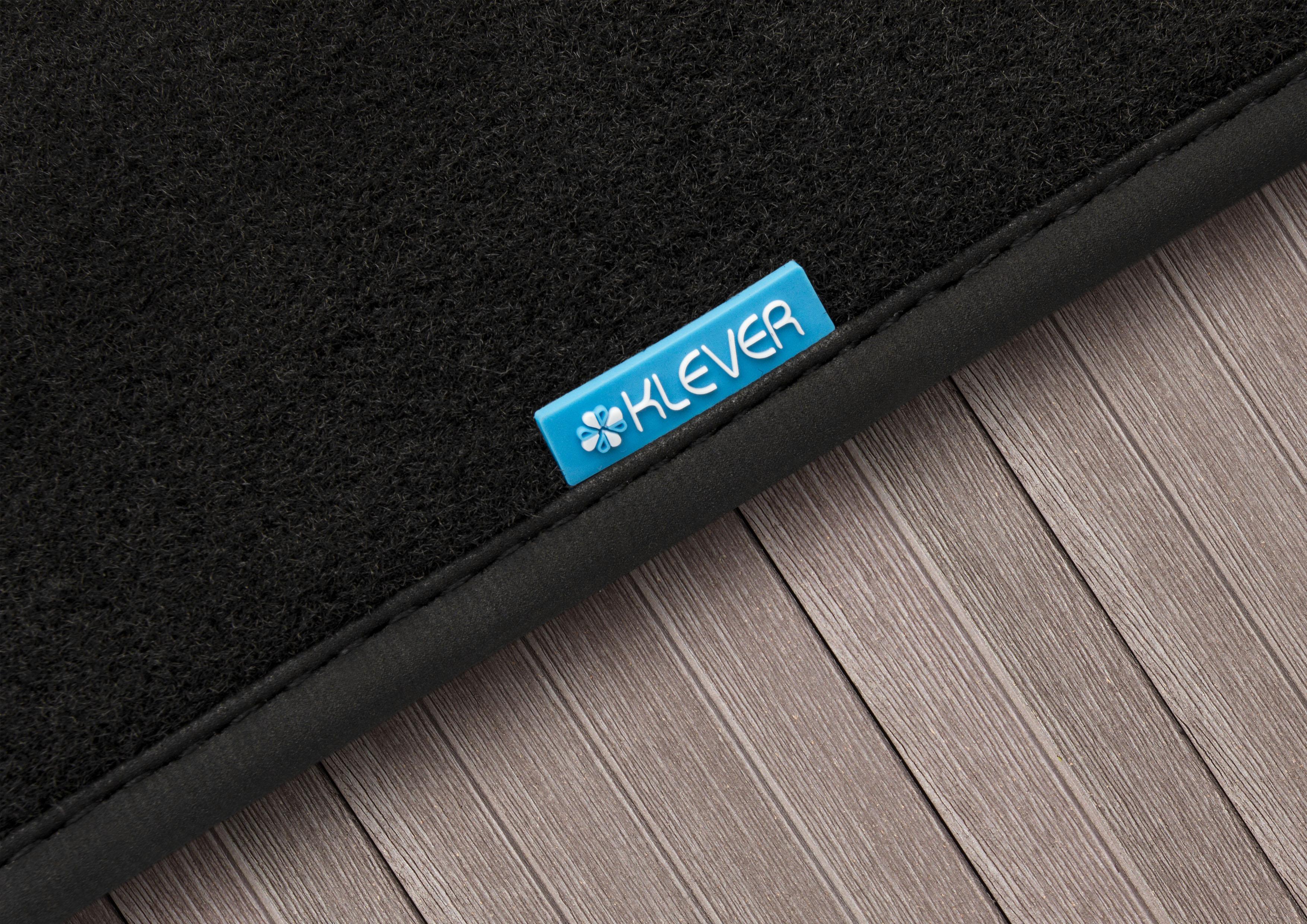 """Набор автомобильных ковриков """"Klever"""" для Volkswagen Polo Sedan 2010-, седан, в салон, 5 шт"""