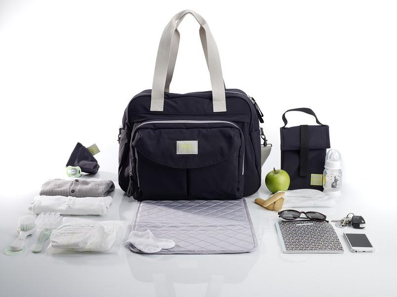 Beaba Сумка для мамы Changing Bag Geneva Ii цвет черный