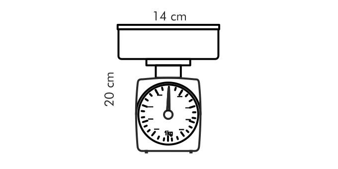 "Кухонные весы Tescoma ""Accura"", 2 кг"