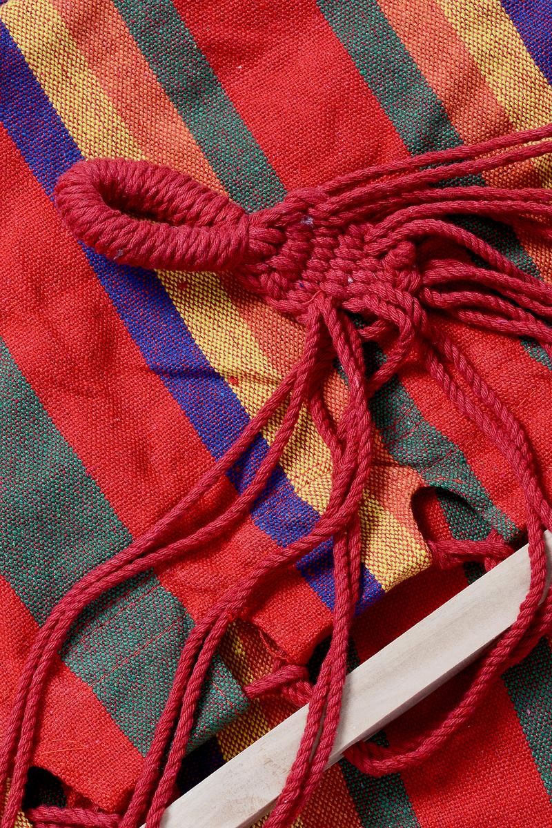 """Гамак Wildman """"Оазис"""", цвет: оранжевый, красный, желтый, 80 х 200 см"""