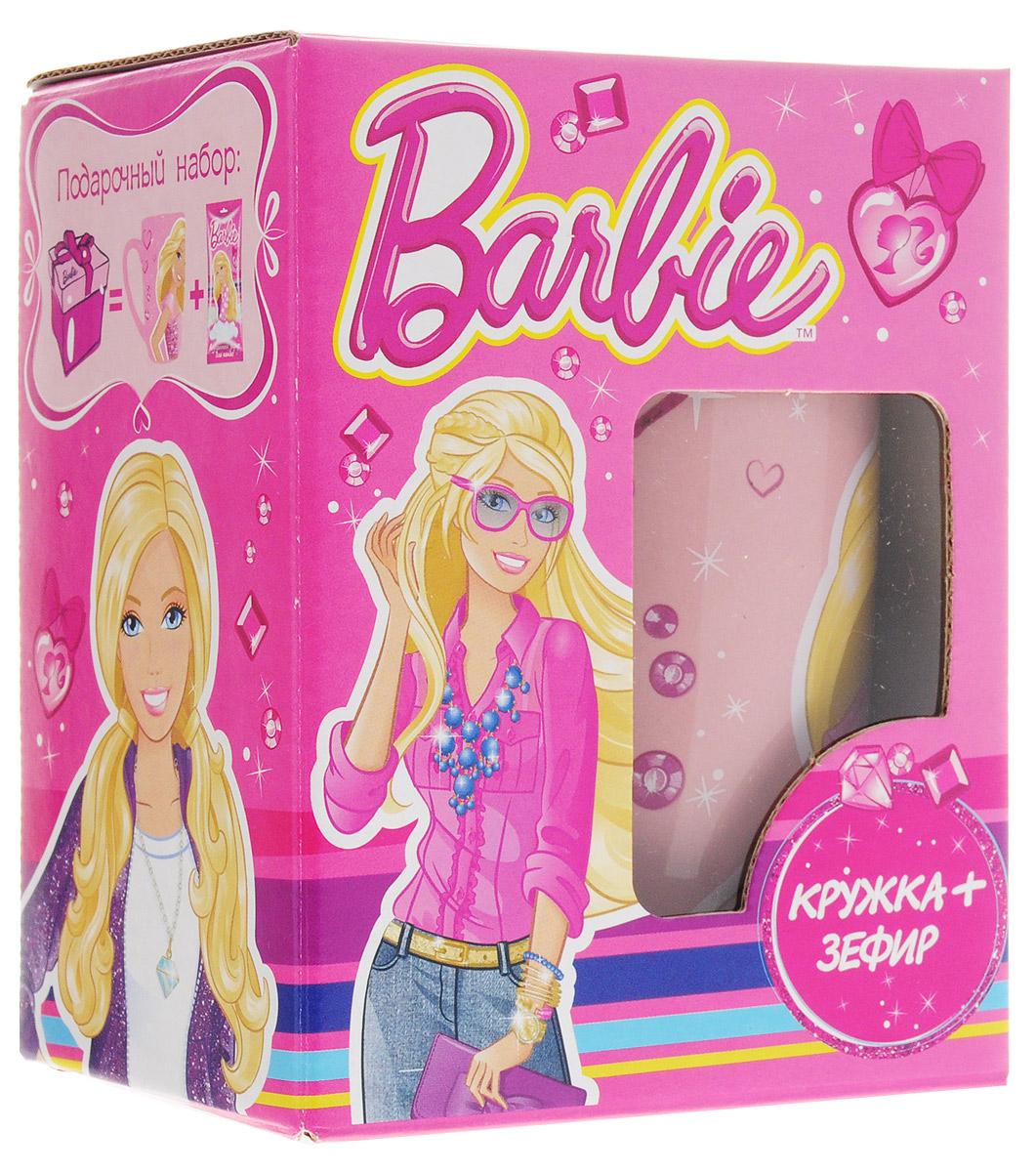 Barbie кружка с зефиром для какао, 15 г