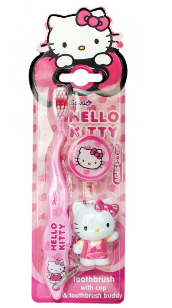 Roxy-kids Зубная щетка Hello Kitty 3D с мигающим световым таймером
