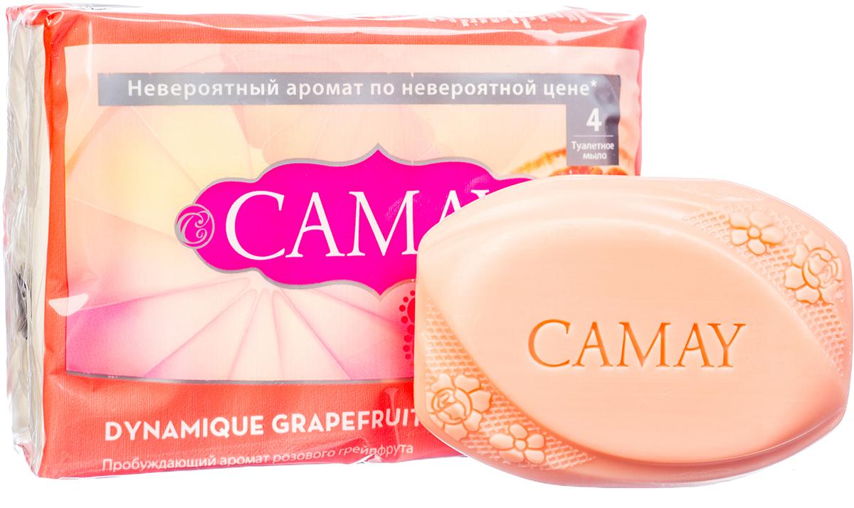 CAMAY Мыло твердое Динамик 4х75г
