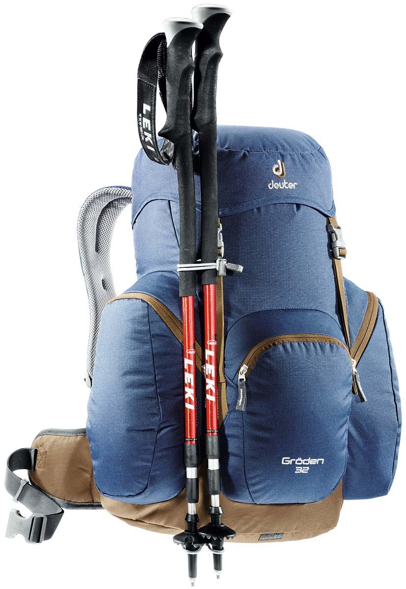 """Рюкзак Deuter """"Groden 30 SL"""", цвет: светло-голубой, красный, 30л"""