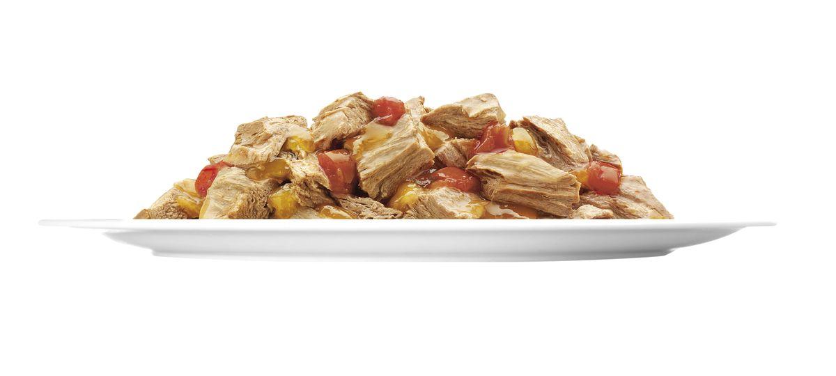 """Консервы для кошек Felix """"Аппетитные кусочки"""", с курицей и томатами в желе, 85 г ( 12114152 )"""