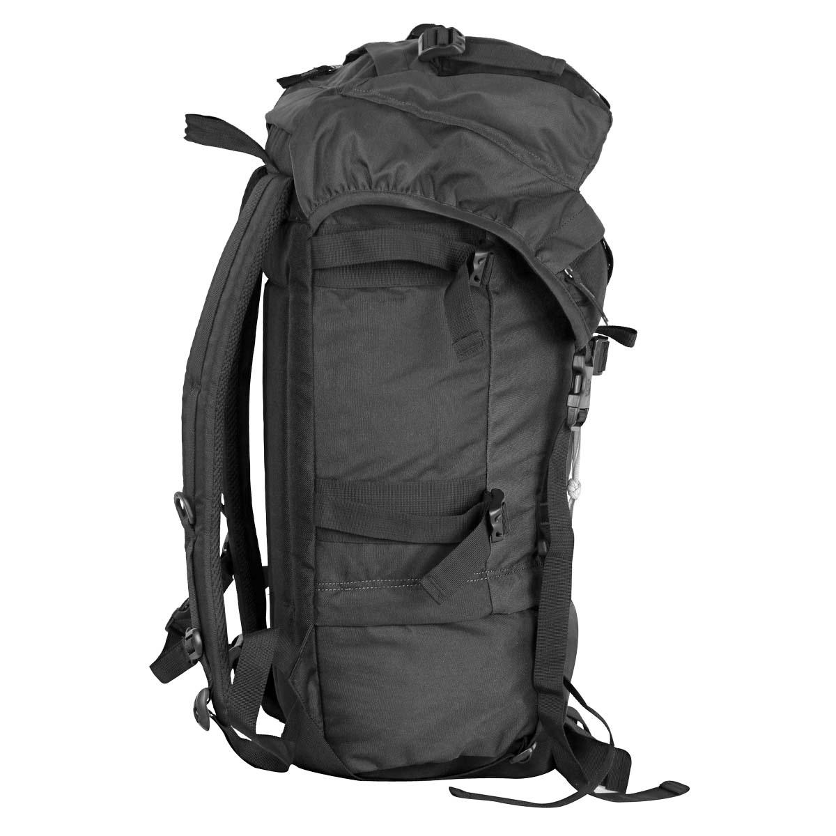 Рюкзак экспедиционный Polar, 45 л, цвет: черный. П930-05
