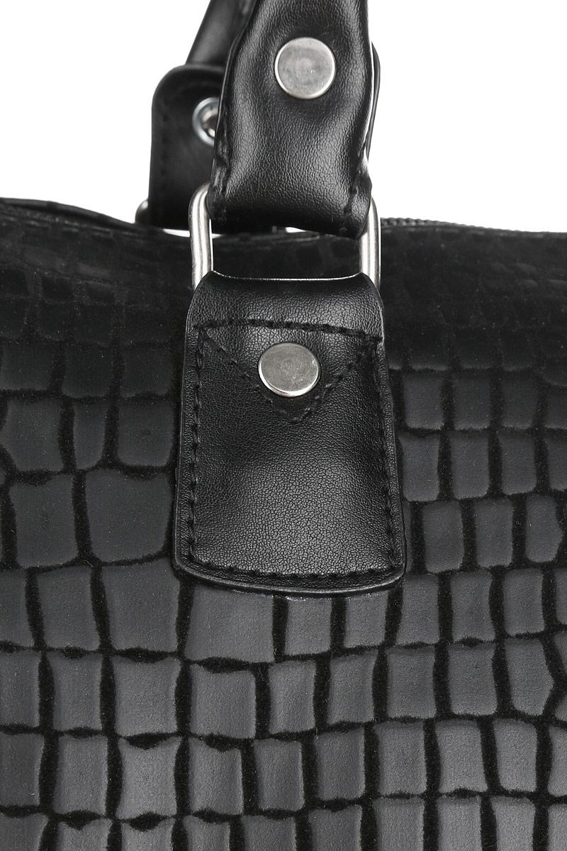 Сумка дорожная Beijing Alex, с выдвижной ручкой, на колесах, цвет: черный, 52 л. P789Q