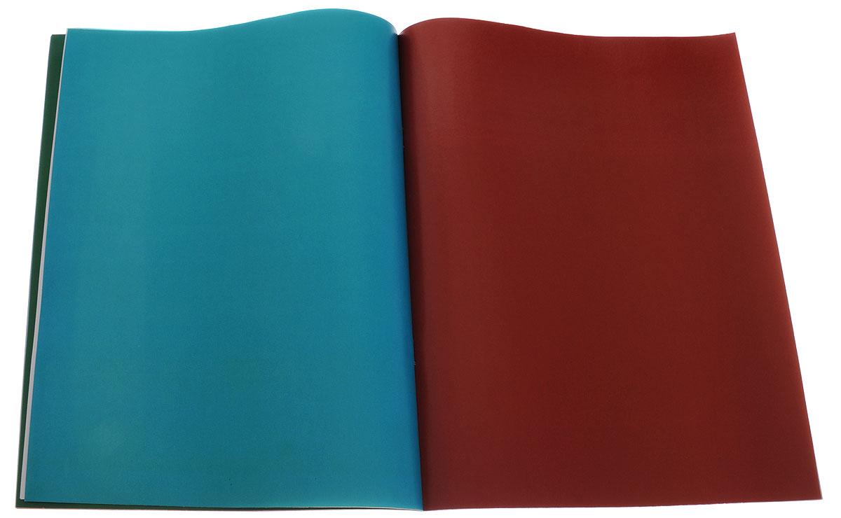 Апплика Цветная бумага мелованная Бельчонок 24 листа