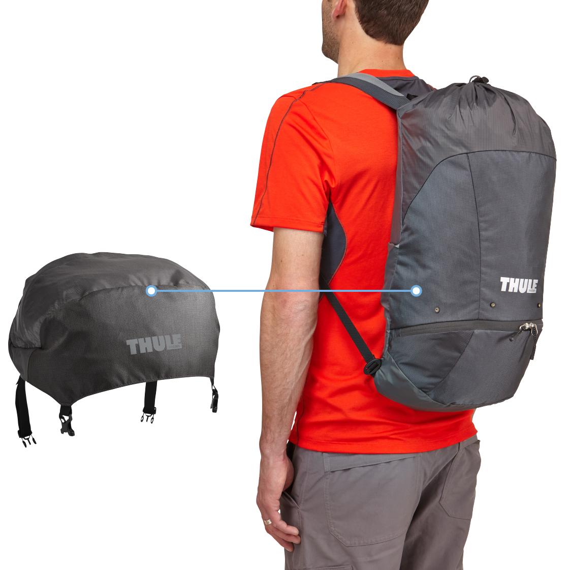 """Рюкзак треккинговый женский Thule """"Guidepost"""", цвет: серый, 75л"""