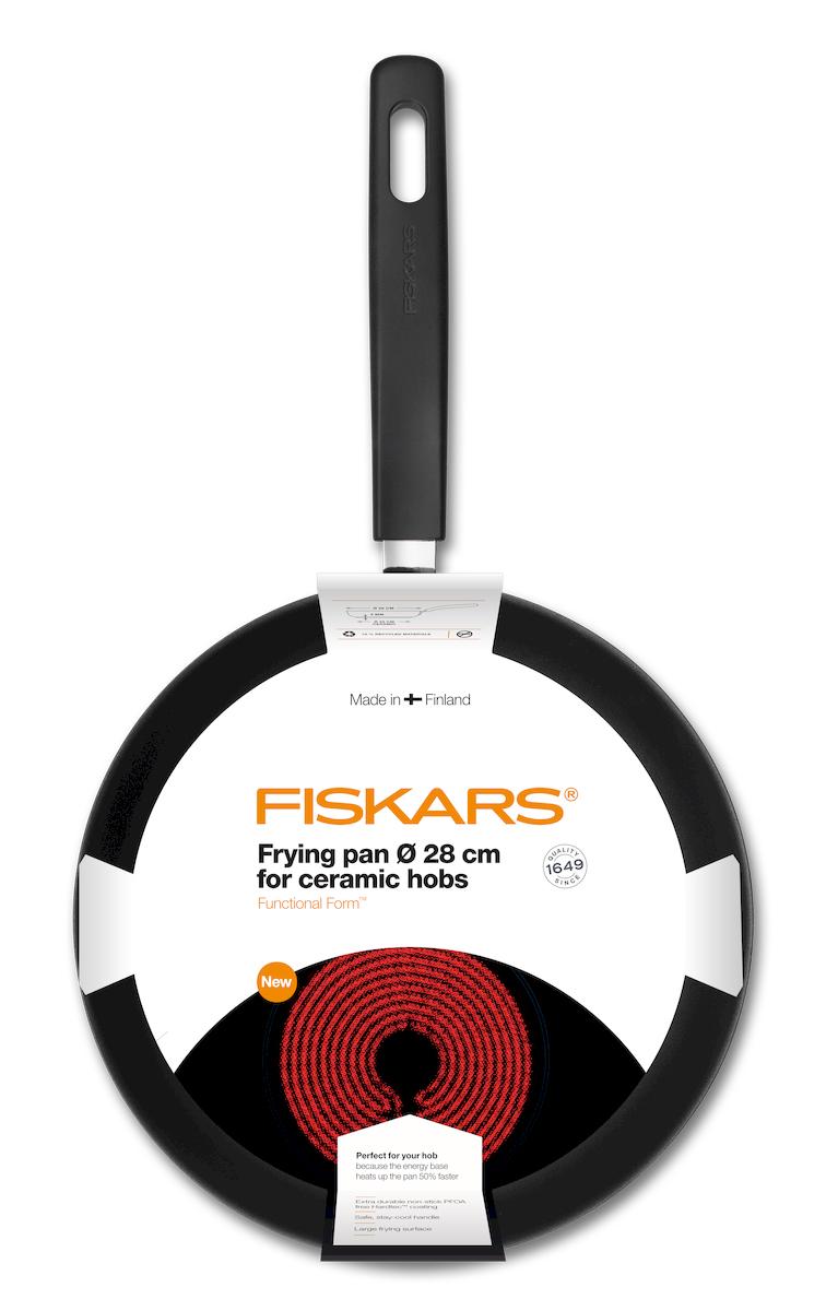 """Сковорода Fiskars """"Functional Form"""", диаметр 28см. 1015319"""