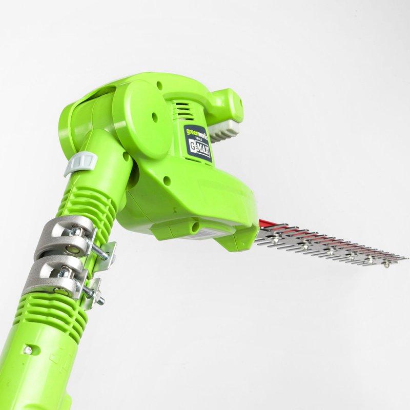 Кусторез удлиненный GreenWorks 40В (без аккумуляторной батареи и зарядного устройства) ( 22147T )