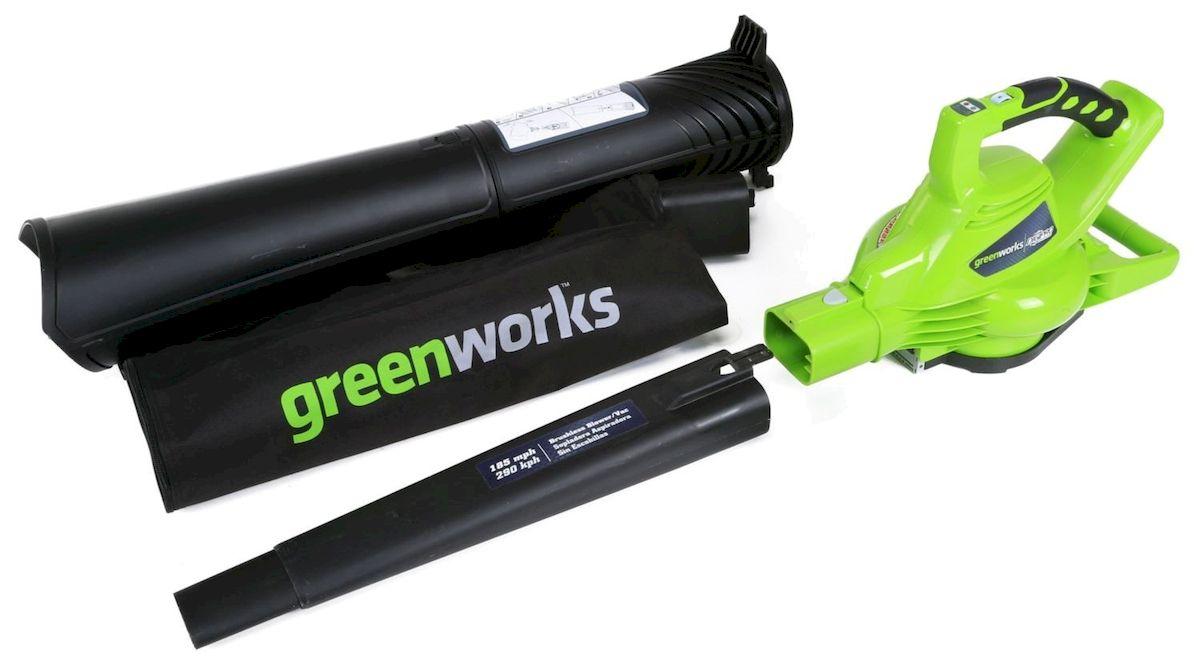 Воздуходувка/Пылесос GreenWorks 2800W ( 24077 )
