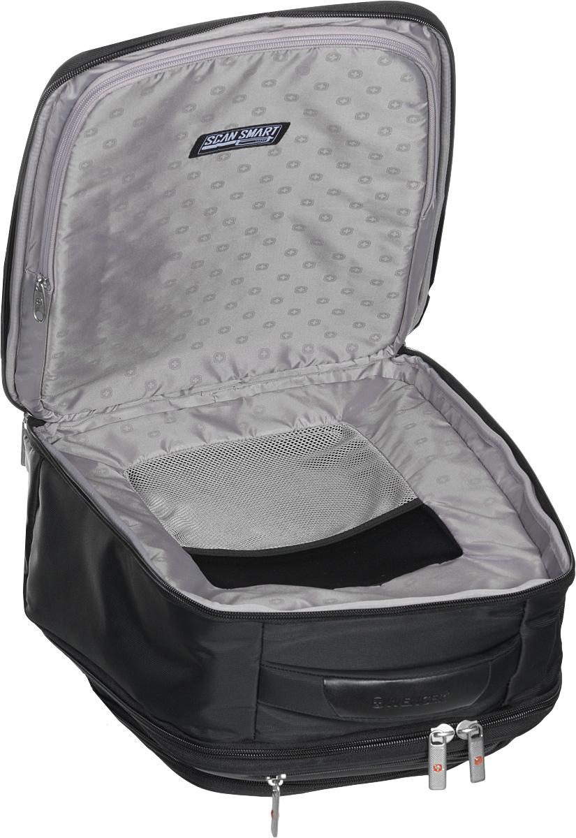 """Рюкзак """"Wenger"""", цвет: черный, 33 х 20 x 43 см, 26 л"""