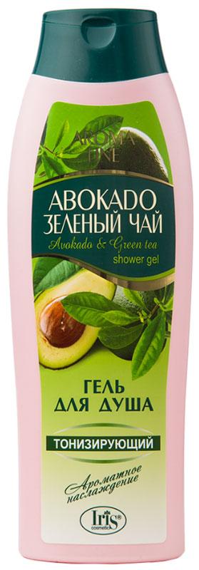 Iris Гель для душа Aroma Line Авокадо и Зеленый чай, 400 мл