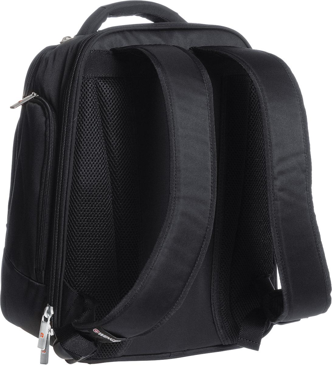 Рюкзак Wenger, цвет: черный, 30 см х 16 см x 38 см, 18 л ( 72992290 )