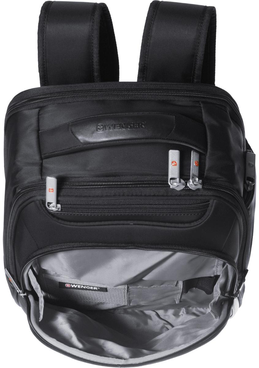 """Рюкзак """"Wenger"""", цвет: черный, 30 х 16 x 38 см, 18 л"""