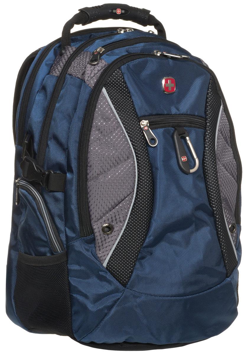 "Рюкзак Wenger ""Neo"", цвет: синий, серый, 39 л ( 1015315 )"