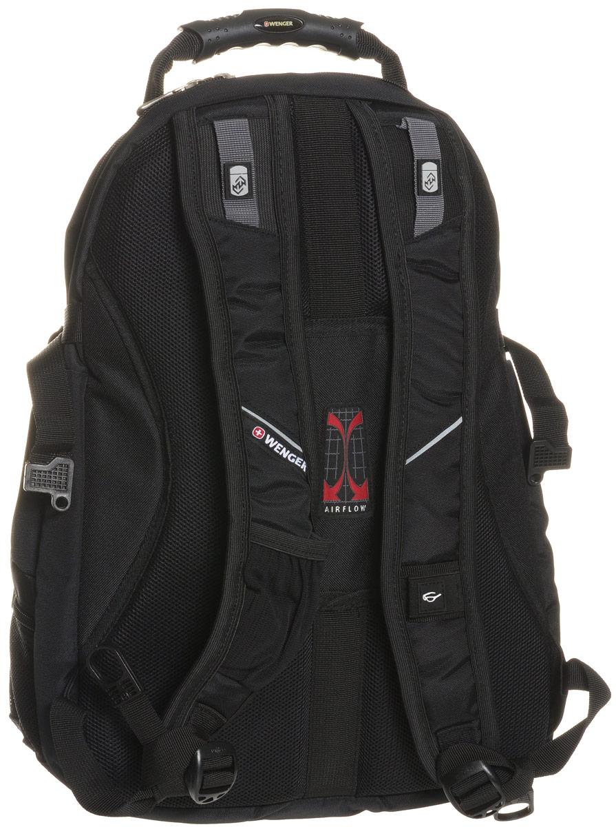 Рюкзак Wenger, цвет: черный, синий, 36 см х 19 см х 47 см, 32 л ( 3263203410 )