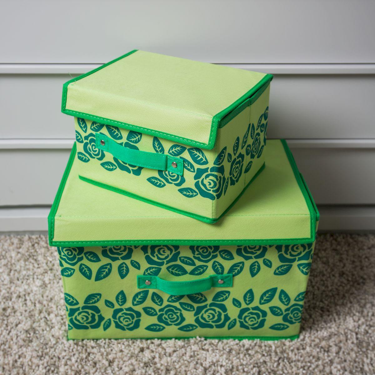 Коробки с крышками для хранения своими руками